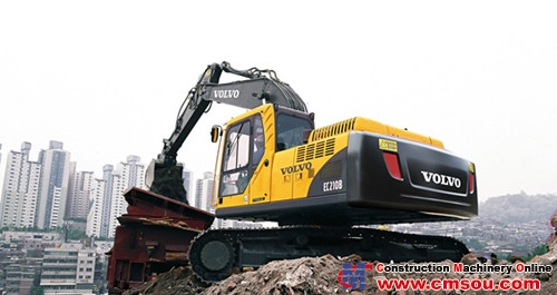 VOLVO EC210B Prime Crawler Excavator