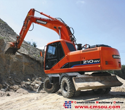 DOOSAN S210W-V Wheel Excavators