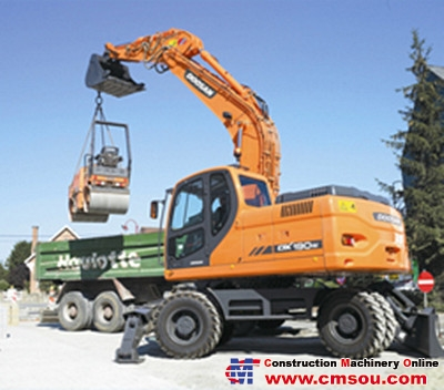 DOOSAN DX190W Wheel Excavators