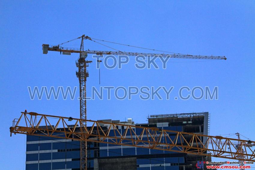 天一 T6015-10T Tower Crane