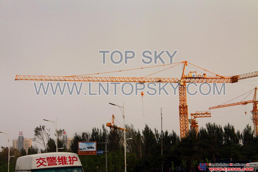 天一 T7540-25T Tower Crane