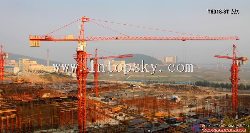 天一 T6018-8T Tower Crane