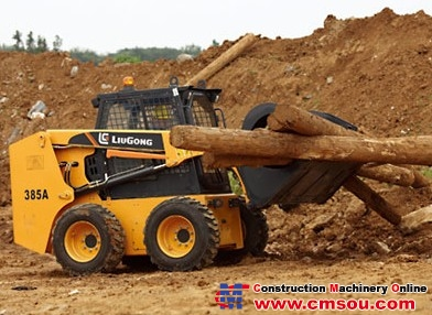 Liugong CLG385AII Skid Steer Loader
