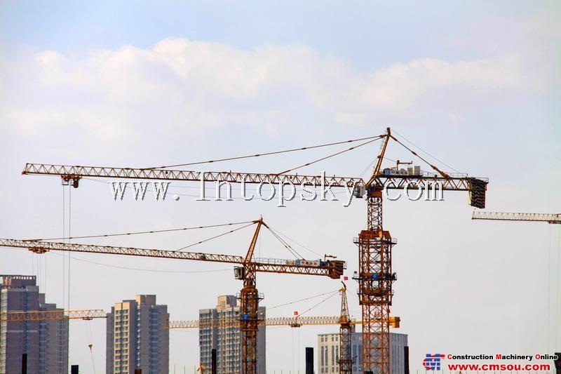 天一 T70115-32T Tower Crane