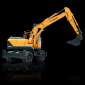 hyundaiR140W-9Awheel excavators