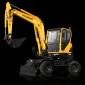 hyundaiR55W-9wheel excavators