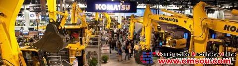 Komatsu America Corp  Will Showcase Its intelligent Machine