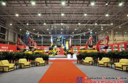 SANY's Lingang Industrial Park to Become World's Largest Excavator Manufacturing Site